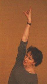 Claudie Simon, cours de danse